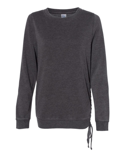 Women's Enzyme-Washed Rally Lace-Up Sweatshirt