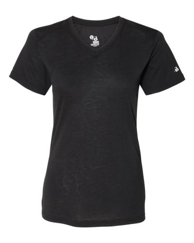 Women's Triblend Performance V-Neck Short Sleeve T-Shirt