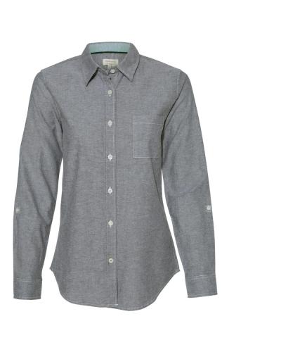 Women's Vintage Stretch Brushed Oxford Shirt