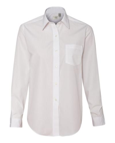 Women's Broadcloth Long Sleeve Shirt