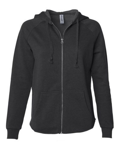 Women's California Wave Wash Zip Hood