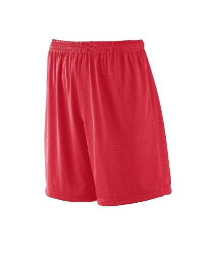 """Adult Tricot Mesh/Tricot-Lined 7"""" Short"""