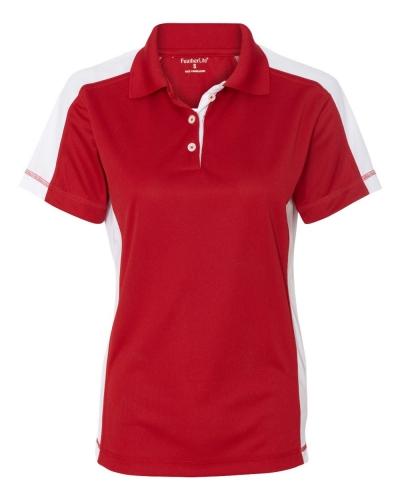 Women's Colorblocked Moisture Free Mesh Sport Shirt