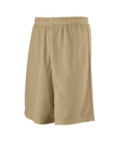 Longer Length Mini Mesh League Short