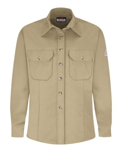 Women's Dress Uniform Shirt - EXCEL FR® ComforTouch