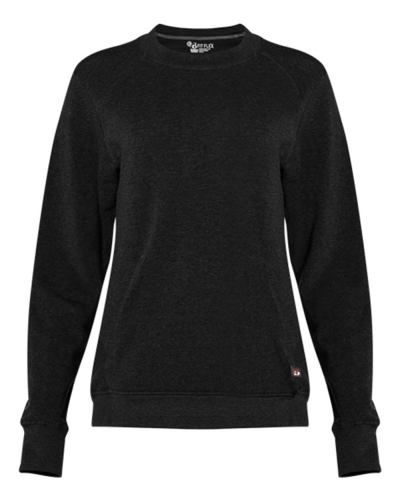 Women's Fitflex French Terry Crew