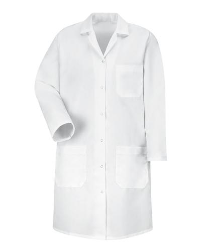 Women's Gripper Front Lab Coat
