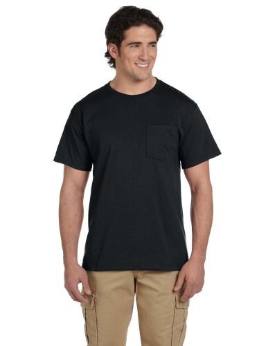 Jerzees 29P Adult DRI-POWER ACTIVE Pocket T-Shirt