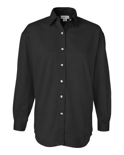 Women's Long Sleeve Cotton Twill Shirt