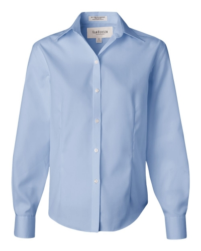 Women's Non-Iron Pinpoint Oxford Shirt