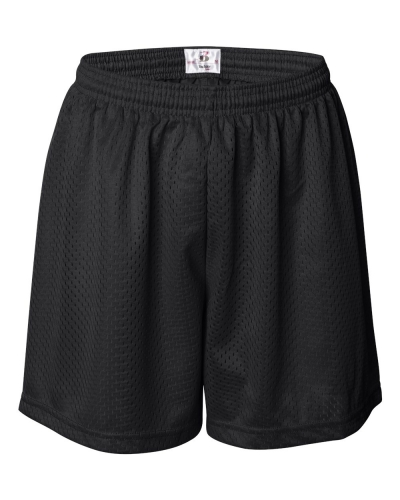 """Women's Pro Mesh 5"""" Shorts with Solid Liner"""
