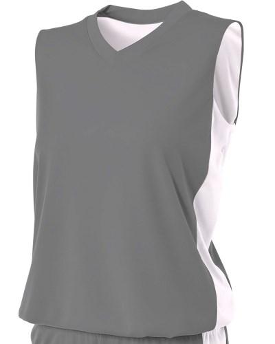 Ladies' Reversible Moisture Management Muscle Shirt