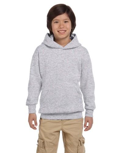 Hanes P473 Youth EcoSmart 50/50 Pullover Hood