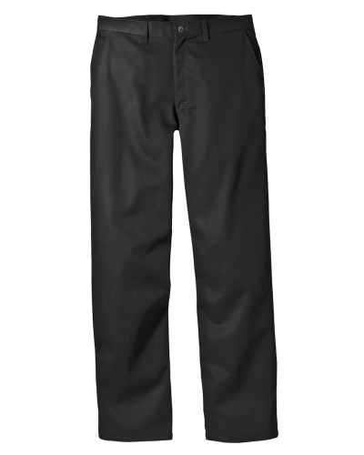 8 oz. Relaxed Fit Cotton Flat Front Pant