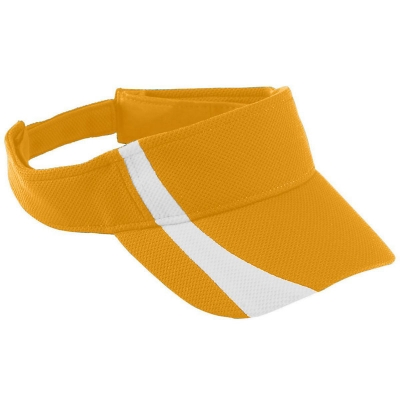 Youth Adjustable Wicking Mesh Two-Color Visor