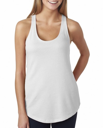 Ladies' French Terry RacerbackTank