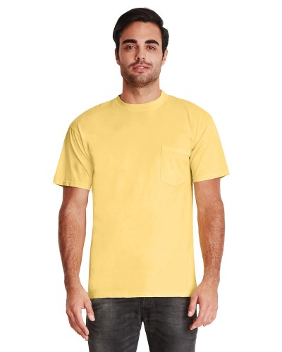 Next Level 7415 Adult Inspired Dye Crew with Pocket
