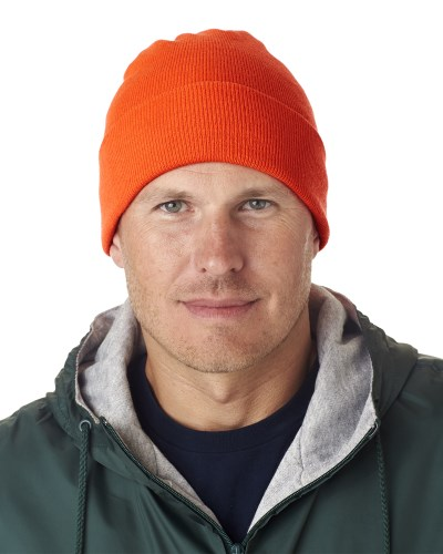 Adult Knit Beanie with Cuff
