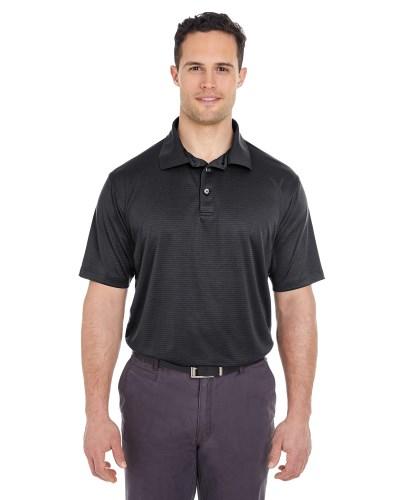 Men's Cool & Dry Jacquard Stripe Polo