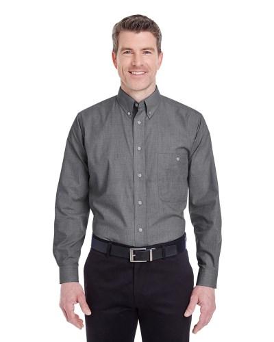 Men's Wrinkle-Resistant End-on-End