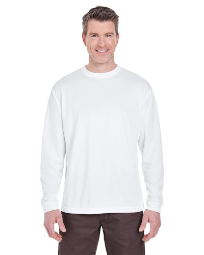 UltraClub 8401 Adult Cool & Dry Sport Long-Sleeve T-Shirt