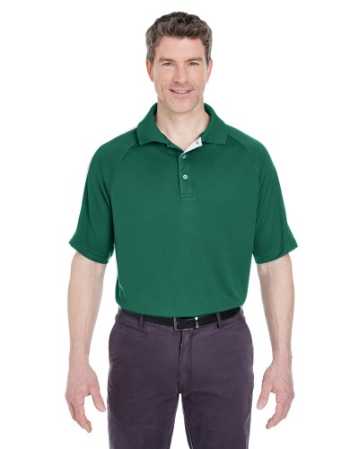 Adult Cool & Dry Sport Shoulder Block Polo
