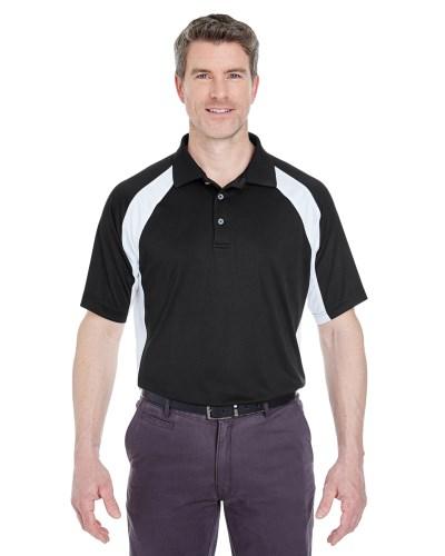 Adult Cool & Dry Sport Performance Colorblock Interlock Polo
