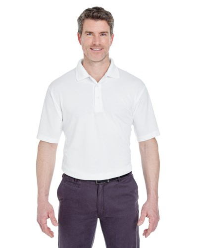 Men's Cool & Dry Stain-Release Performance Polo
