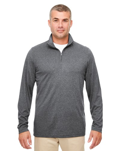 Men's Cool & Dry Heathered Performance Quarter-Zip