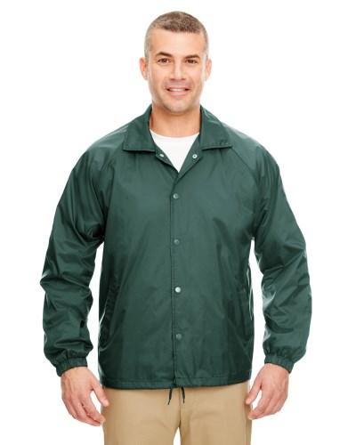 UltraClub 8944 Adult Nylon Coaches Jacket
