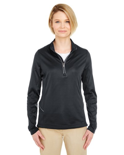 Ladies' Cool & Dry Sport Quarter-Zip Pullover