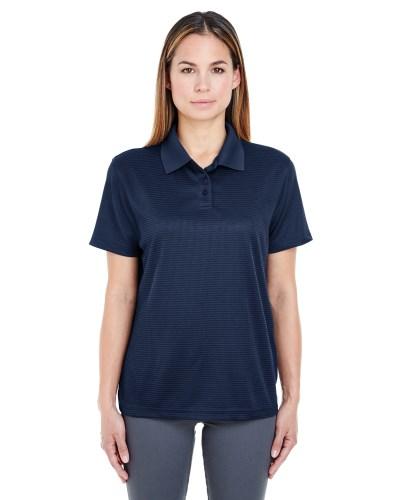 Ladies' Cool & Dry Elite Mini-Check Jacquard Polo