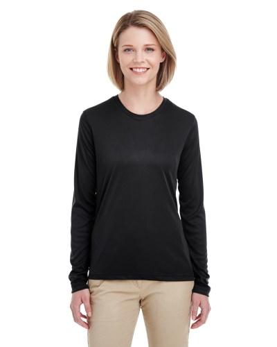 Ladies' Cool & Dry Performance Long-Sleeve Top