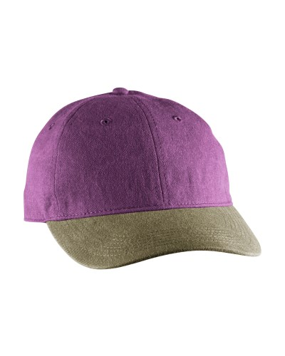 Pigment-Dyed Canvas Baseball Cap