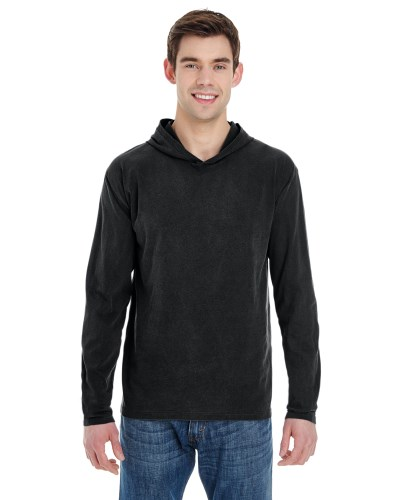 Adult Heavyweight RS Long-Sleeve Hooded T-Shirt
