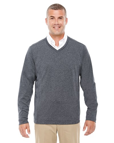 Adult Fairfield Herringbone V-Neck Pullover