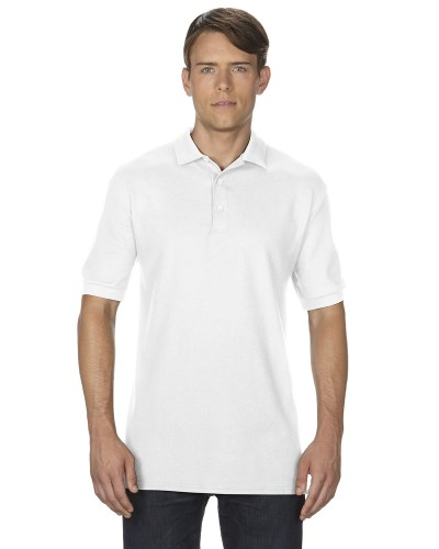 Adult Premium Cotton® 6.6 oz. Double Piqué Polo