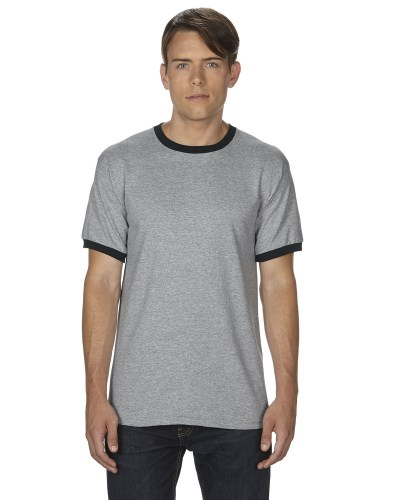 Adult DryBlend® 5.5 oz. Ringer T-Shirt