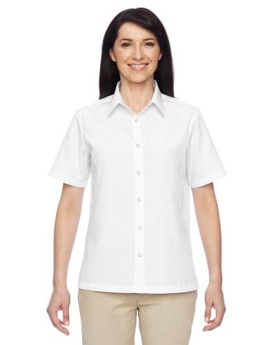 Ladies' Advantage Snap Closure Short-Sleeve Shirt
