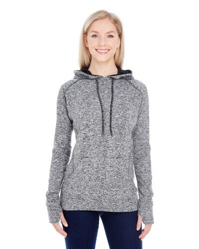 Ladies' Cosmic Contrast Fleece Hood