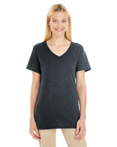 Jerzees 601WVR Ladies TRI-BLEND V-Neck T-Shirt