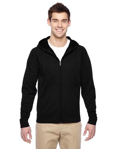 Adult 6 oz. DRI-POWER® SPORT Full-Zip Hooded Sweatshirt