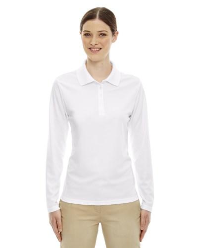 Ladies' Pinnacle Performance Long-Sleeve Piqué Polo