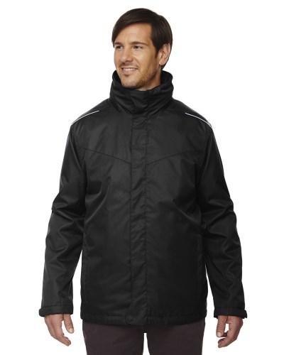 Men's Tall Region 3-in-1 Jacket with Fleece Liner