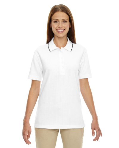 Ladies' Edry® Needle-Out Interlock Polo