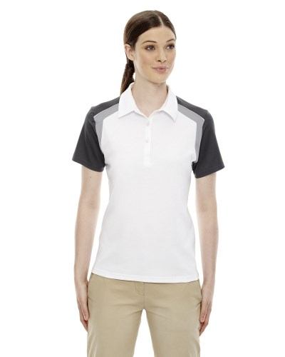 Ladies' Edry® Colorblock Polo