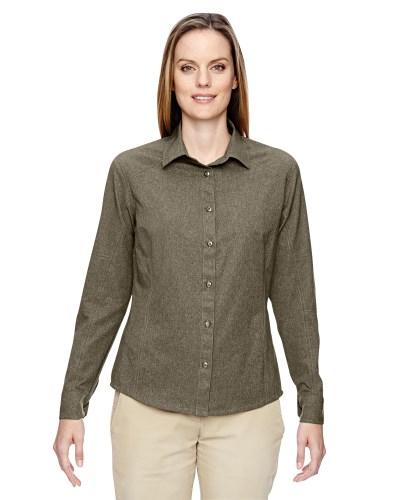 Ladies' Excursion Utility Two-Tone Performance Shirt