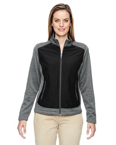Ladies' Victory Hybrid Performance Fleece Jacket