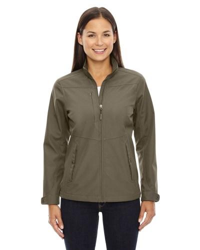 Ladies' Forecast Three-Layer Light Bonded Travel Soft Shell Jacket