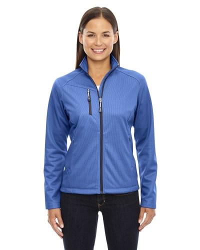 Ladies' Trace Printed Fleece Jacket